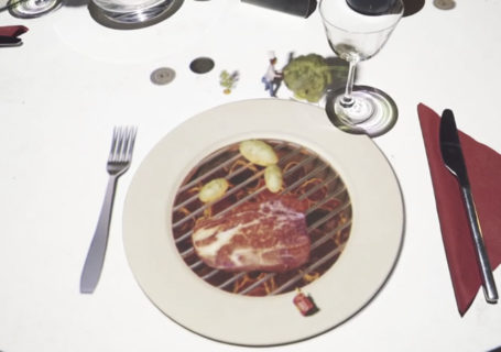 Idée de mapping au restaurant : Le Petit Chef 11