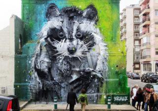 StreetArt recyclés de Artur Bordalo 1