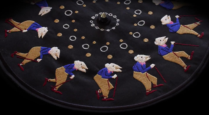Embroidered Zoetrope