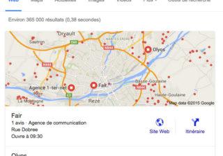 Liste des catégories Google Business pour votre entreprise 1