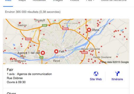Liste des catégories Google Business pour votre entreprise 4
