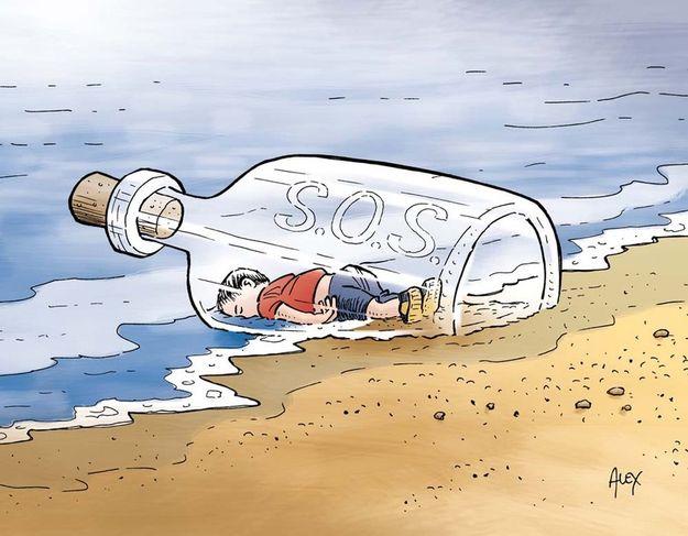 hommage Aylan Kurdi-7