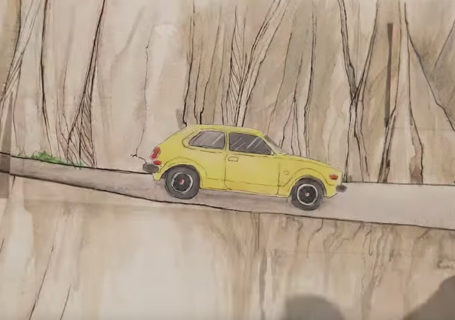 "Superbe Animation stop-motion : Honda ""Paper"" 1"