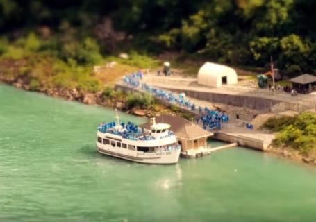 Vidéo : Tilt-shift des chutes du Niagara 7