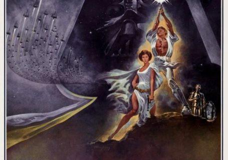 L'évolution des affiches des films Star Wars 4