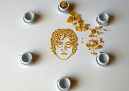 Des portraits de musiciens en cornflakes 12