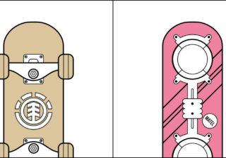 Illustrations funs: les 2 types de personnes différentes