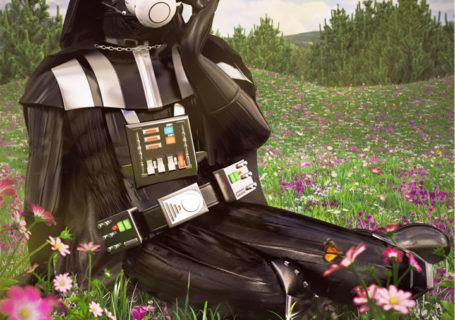 Illustrations lowpoly : Les portraits Star Wars prennent de la couleur 5