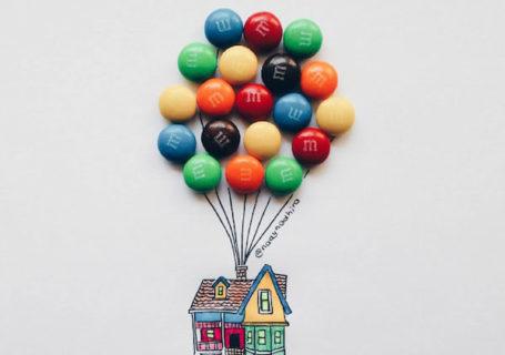Dessins aux bonbons 12