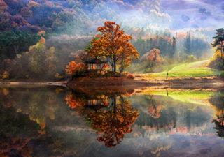 photos les paysages magnifiques en reflet de jaewoon u. Black Bedroom Furniture Sets. Home Design Ideas