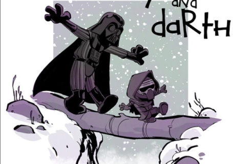 Illustrations : Calvin & Hobbes Version StarWars 4