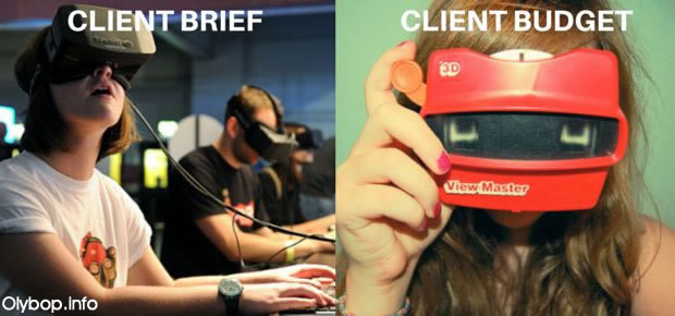 Client Brief VS Client Budget-2016-1