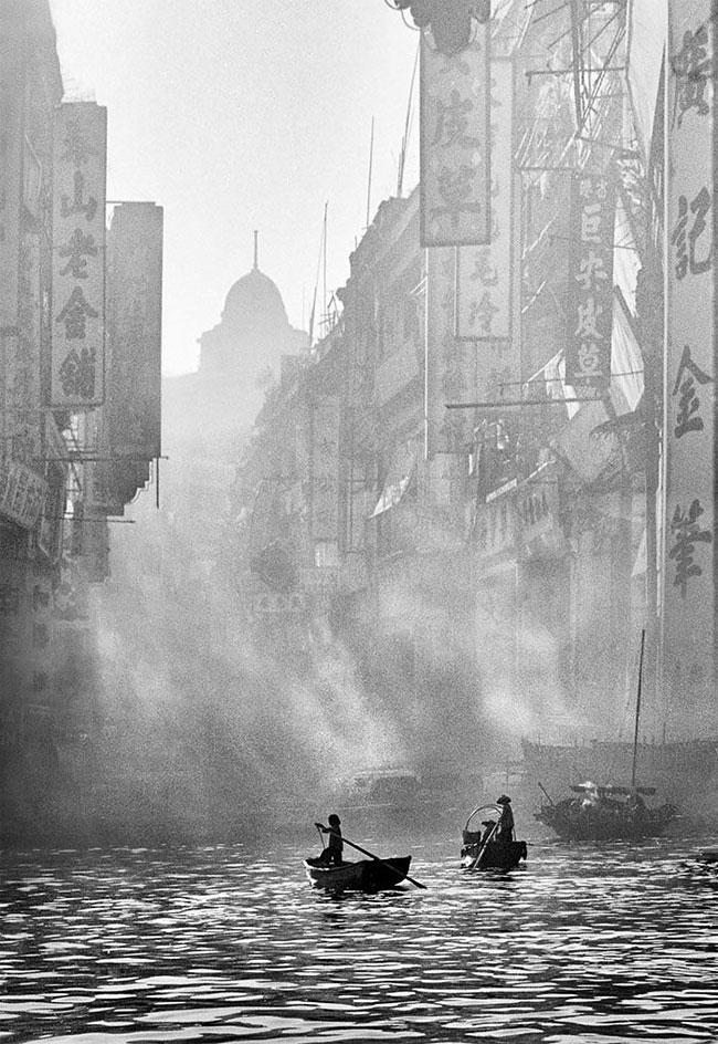 Série de photos sur Hong Kong prises par Ho Fan en 1950.