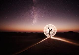 Light Painting : Les magnifiques photos d'Eric Paré 1