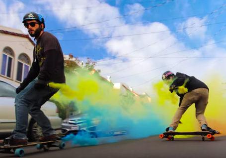 Freeboard, des fumigènes et une belle balade à San Francisco 4k 1