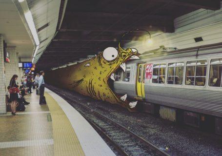 Illustrations : Dessins de monstres dans la vraie vie 4