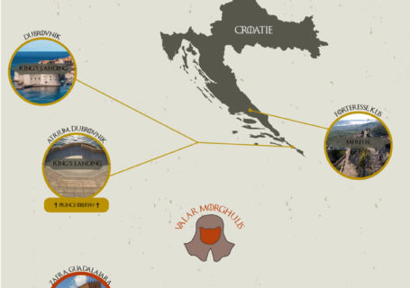 Infographie des lieux de tournages de Game of Thrones 2