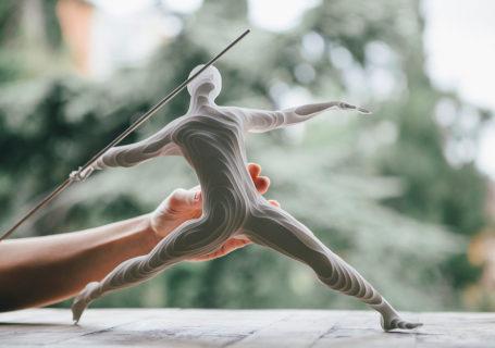 Origami : Des sportifs olympiques réalisés en Papier par Raya Sader Bujana 5