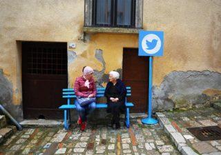 """Transformation d'une ville en réseaux sociaux """"in real life"""""""
