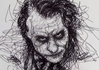 Parkinson's Drawing - Comment dessiner le joker à main levée 1