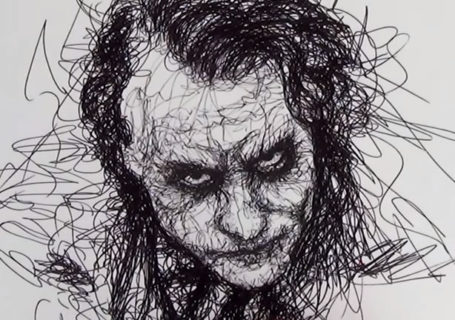 Parkinson's Drawing - Comment dessiner le joker à main levée 9