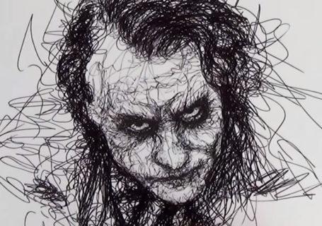 Parkinson's Drawing - Comment dessiner le joker à main levée 10