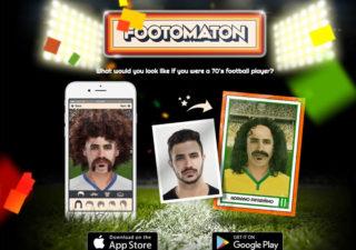 """Footomaton - Générateur de portraits effet """"carte Panini"""" 1"""