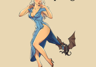 Et si les actrices de Game of Thrones étaient des Pinup sexy 1