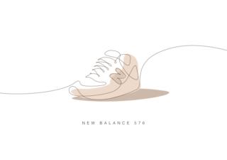 Comment dessiner des chaussures mythiques avec 1 seul trait ?