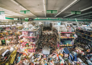 Les photos de lieux abandonnés en 2011 de Fukushima 1