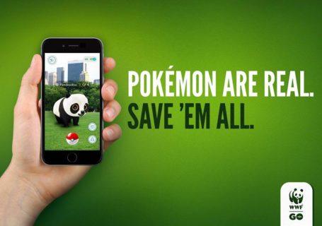 Campagne WWF Go utilisant Pokemon Go 1
