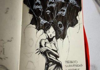 Illustrations expliquant les troubles de la santé mentale 1