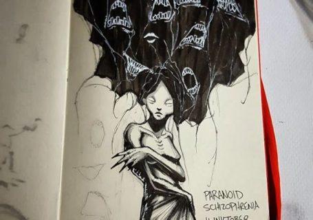 Illustrations expliquant les troubles de la santé mentale 6