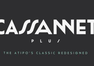 Typographie Gratuite : Cassannet plus ! 1
