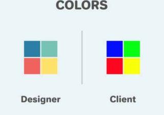 [Humour de Designer] Vision du Designer VS celle du Client