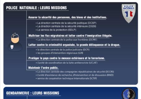 Infographie : Mieux comprendre les forces de l'ordre françaises : Chiffres et missions 5