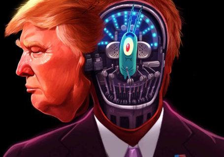 """Les 20 dessins post élection de TRUMP les plus """"beaux"""" 8"""