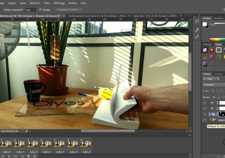 Comment réaliser un Cinémagraph avec photoshop ? 4