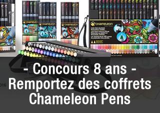 [Concours 8 ans Olybop] Gagnez des coffrets et accessoires Chameleon Pens (terminé)
