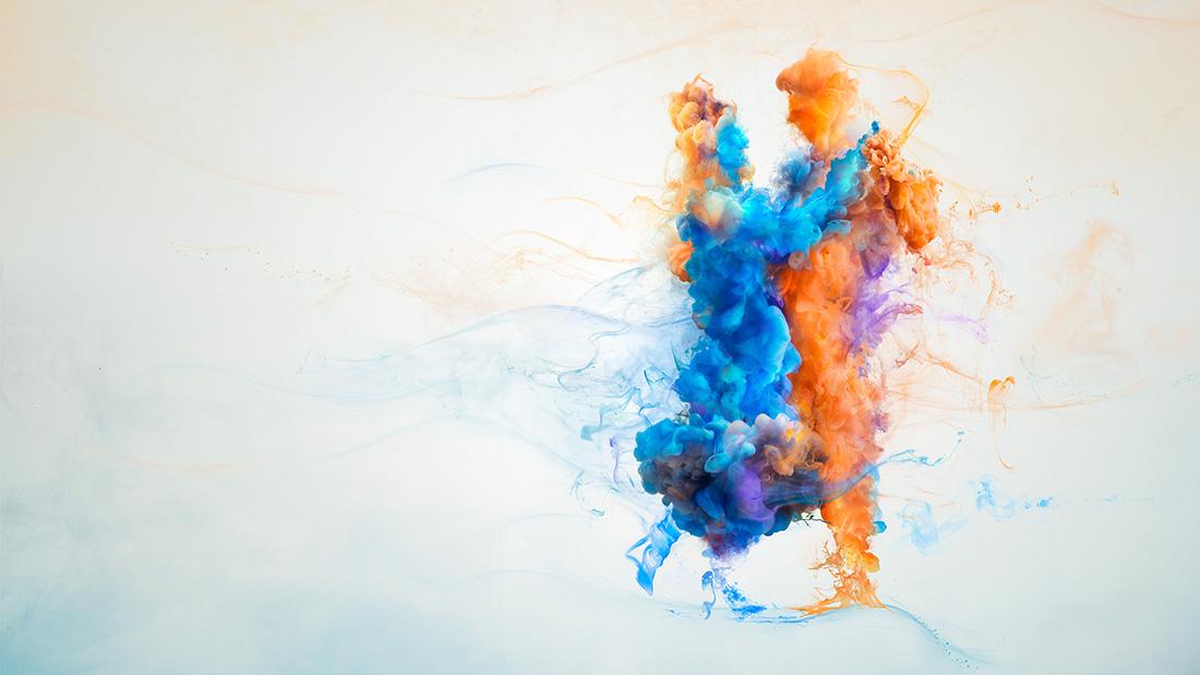 [Vidéo] L'effet de l'encre colorée dans l'eau - Campagne sensibilisation à Parkinson 2