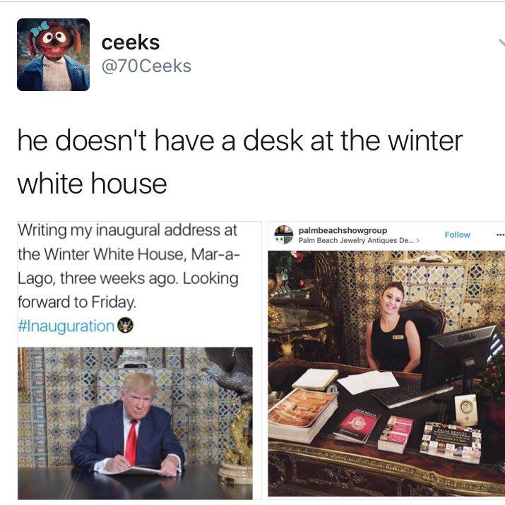 Les meilleurs détournements de la photo de Trump en train d'écrire 14