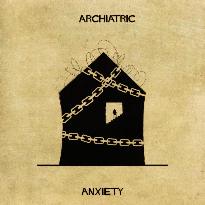 Illustrations : Maladies mentales expliquées grâce à l'architecture 2