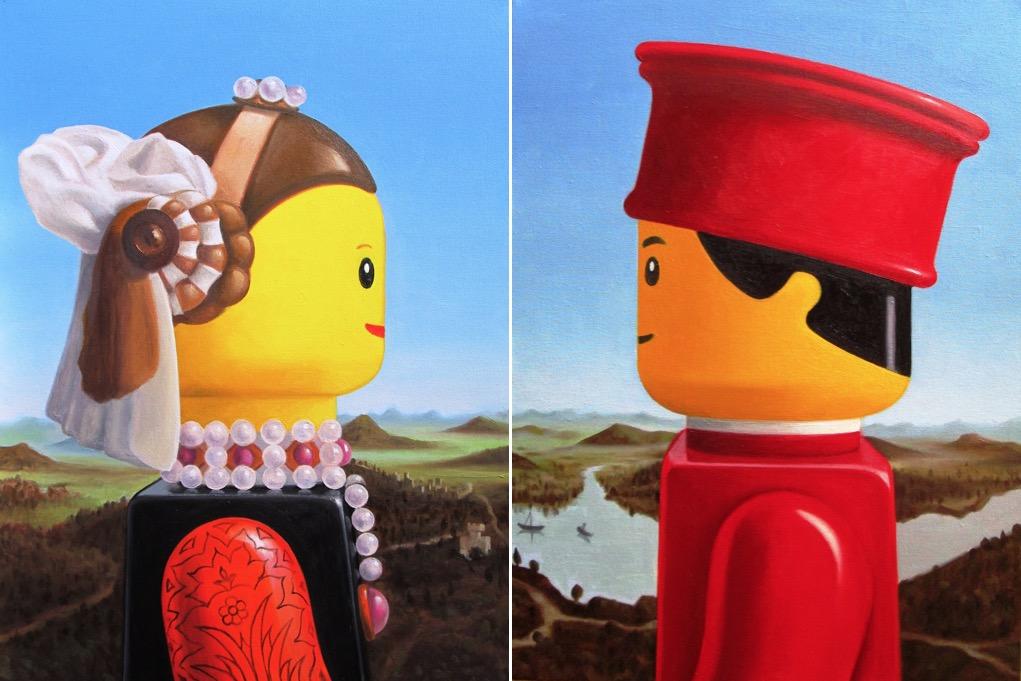 Illustrations : Des célébrités en LEGO 4