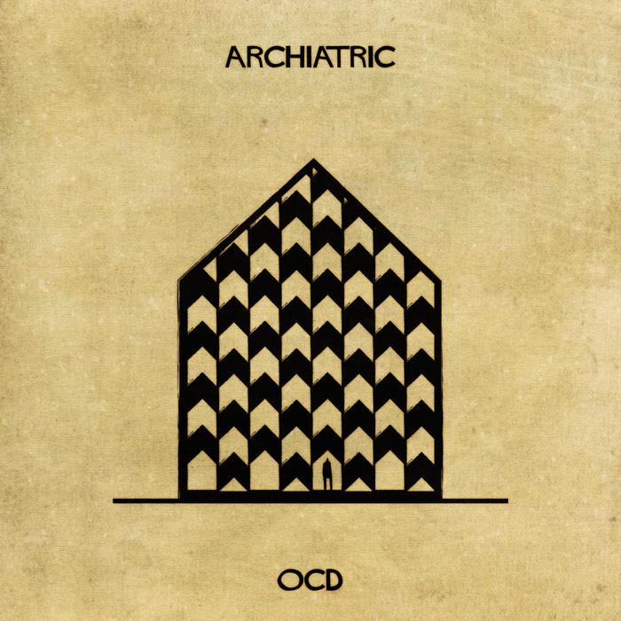 Illustrations : Maladies mentales expliquées grâce à l'architecture 5