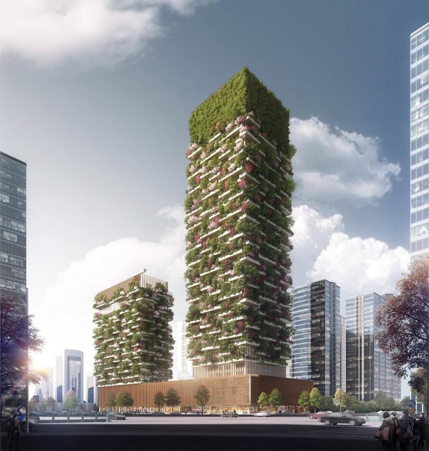 Un immeuble comme forêt verticale 5