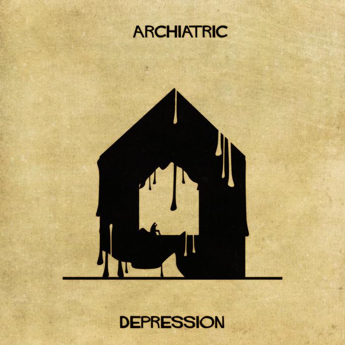Illustrations : Maladies mentales expliquées grâce à l'architecture 6