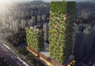 Un immeuble comme forêt verticale 1