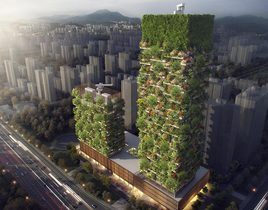 Un immeuble comme forêt verticale 6