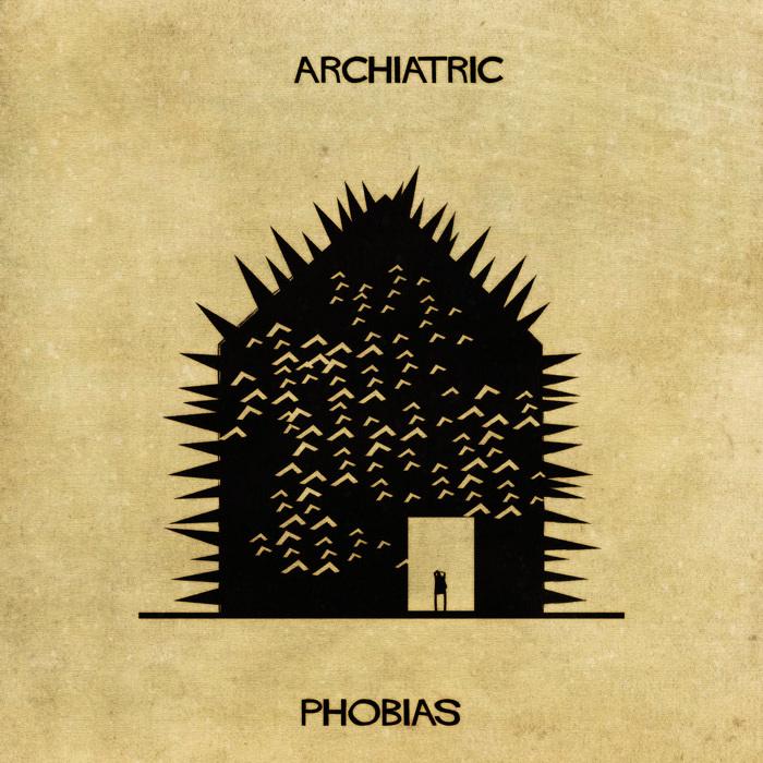Illustrations : Maladies mentales expliquées grâce à l'architecture 7