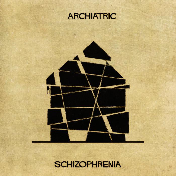 Illustrations : Maladies mentales expliquées grâce à l'architecture 8